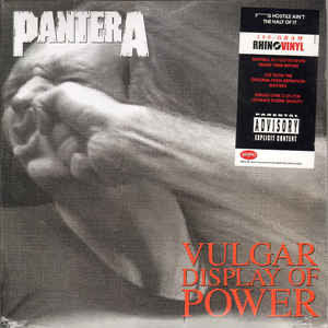 Pantera - Vulgar display of power (2LP)