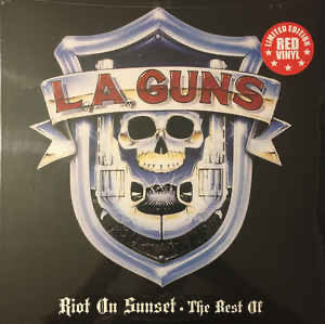 L.A. Guns - Riot on sunset - The best of (RED VINYL)