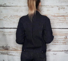 Load image into Gallery viewer, Black Denim Jacket