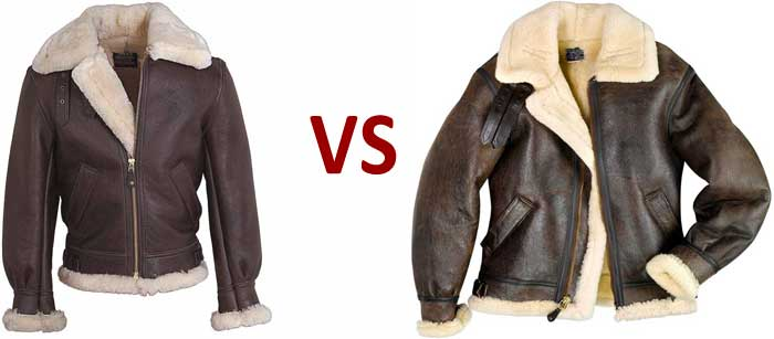 Sheepskin B-3 Jackets - What's the Difference?