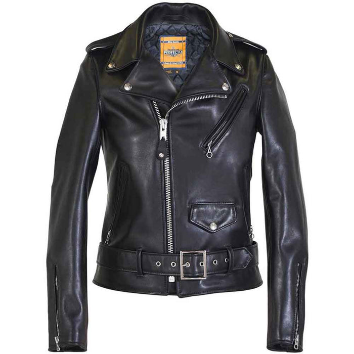 Schott Collection Womens 137W Perfecto Leather Motorcycle Jacket