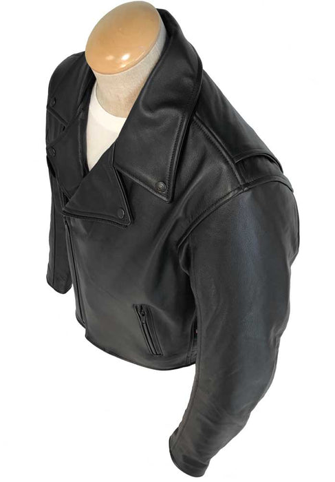 Legendary Cruiser Mens Leather Motorcycle Jacket