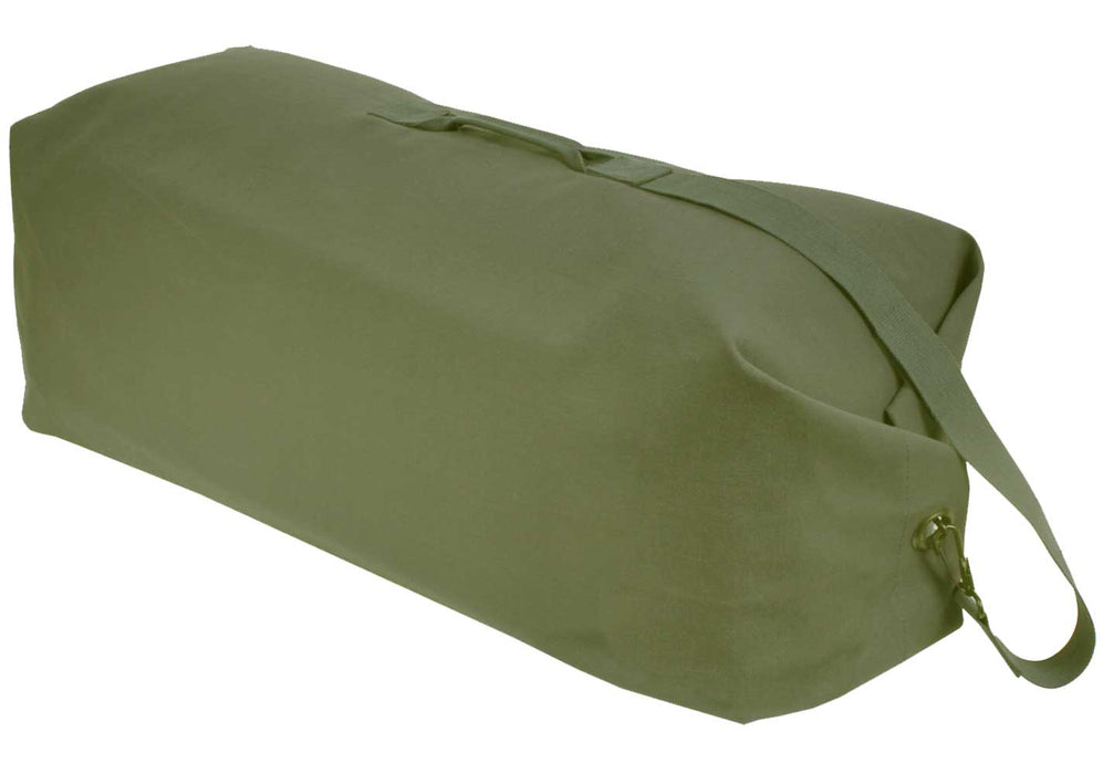 Large Heavyweight Canvas Top Load Duffle Bag
