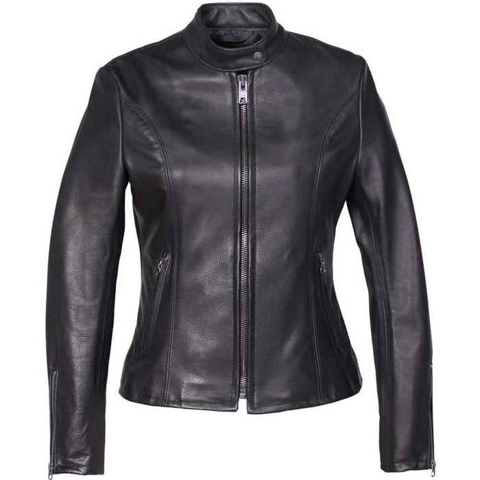Schott Collection Womens 531W Lightweight Leather Motorcycle Jacket