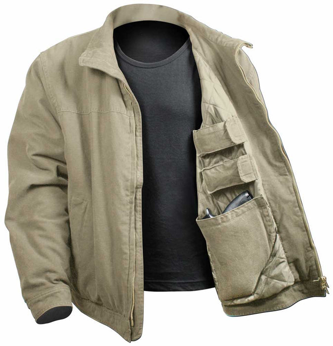 Rothco Mens Concealed Carry 3 Season Jacket