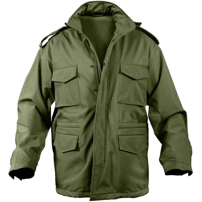 Rothco Mens Soft Shell Tactical M65 Field Jacket