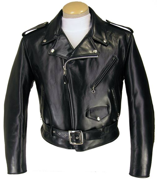Schott NYC Mens 618HH Horsehide Perfecto Motorcycle Jacket