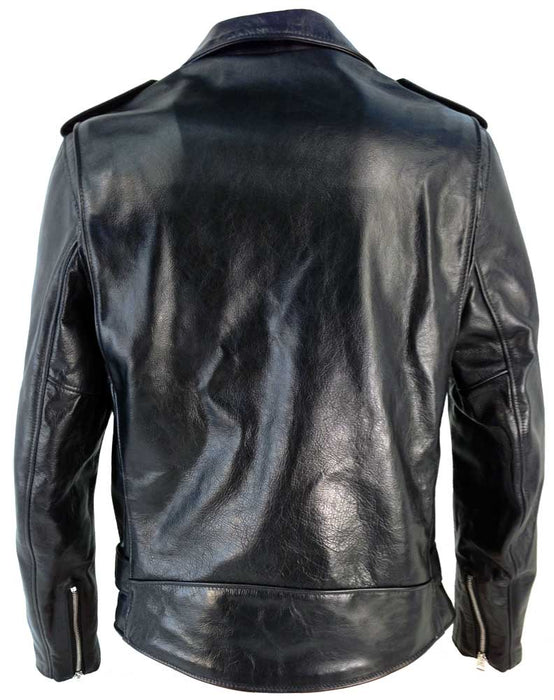 Schott Collection Mens 626 Cowhide Fitted Motorcycle Jacket