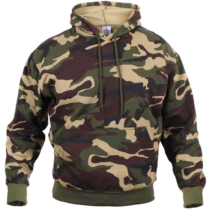Rothco Mens Camouflage Pullover Hooded Sweatshirt