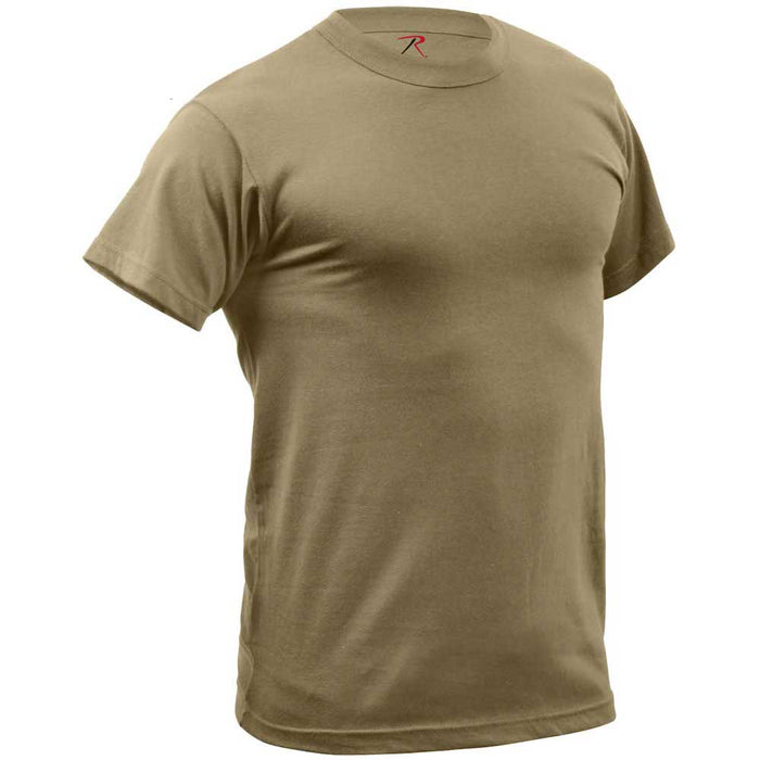 Rothco Mens Quick Dry Moisture Wicking T-Shirt