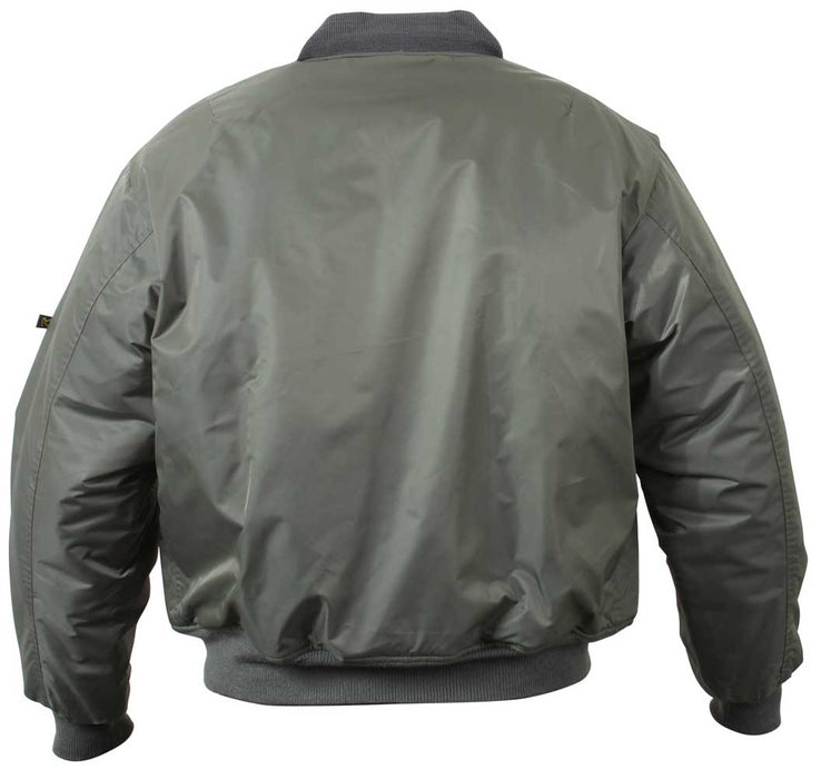 Rothco Mens Classic MA-1 Nylon Flight Jacket