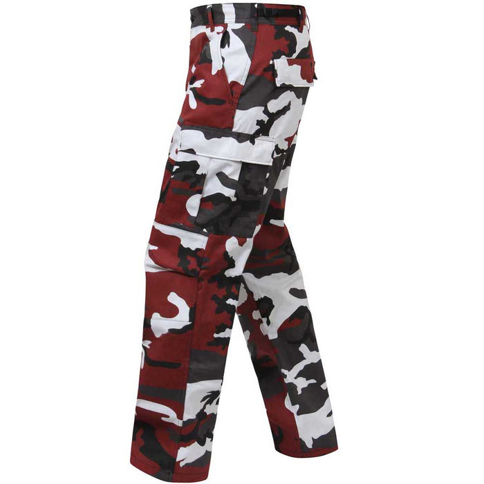 Rothco Mens Color Camouflage BDU Pants