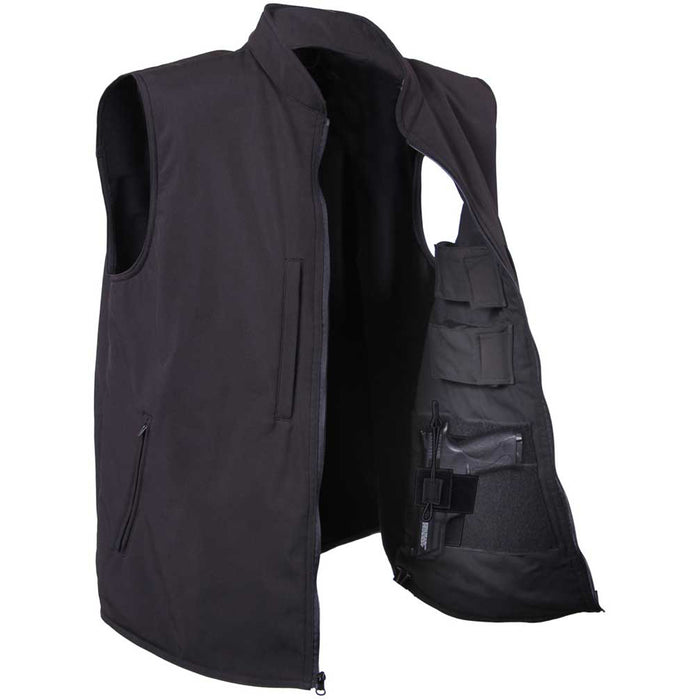 Rothco Mens Concealed Carry Soft Shell Vest