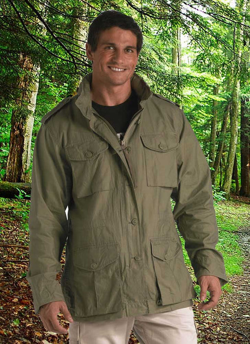 Rothco Mens Vintage Lightweight Field Jacket