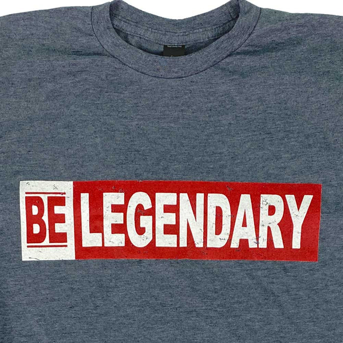BE LEGENDARY Heather Blue T-Shirt