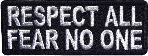 Respect All Fear No One Patch