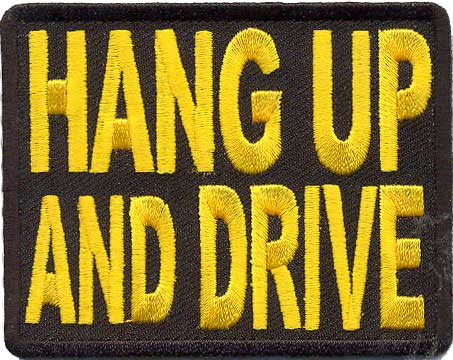 Hang Up & Drive! Patch