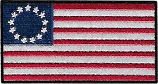 Colonial Betsy Ross American Flag Patch