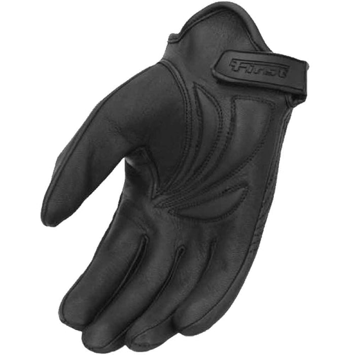 First Mfg Short Wrist Motorcycle Riding Gloves