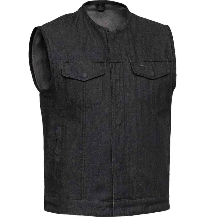 First Mfg Mens Haywood Denim Concealment Vest
