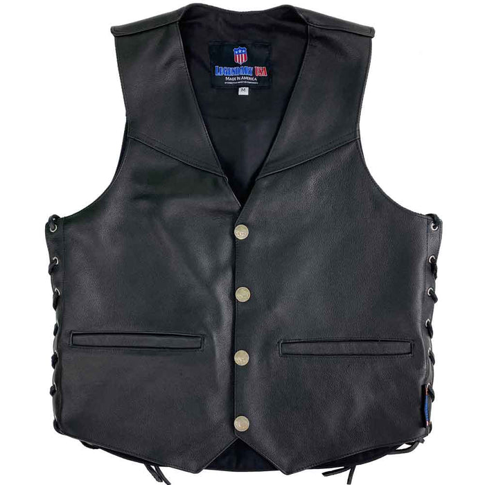 Legendary Peacemaker Mens Vest with Gun Pockets