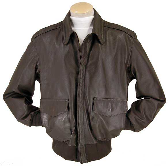 Legendary Fighting Falcon Mens A-2 Flight Jacket
