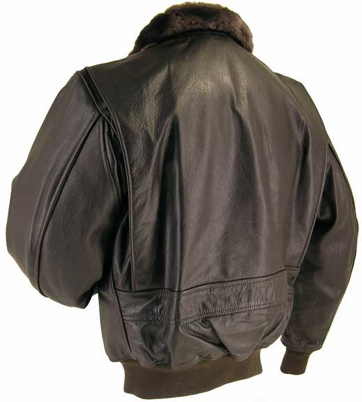 Legendary Hellcat Mens G-1 Leather Flight Jacket w/Side Entry