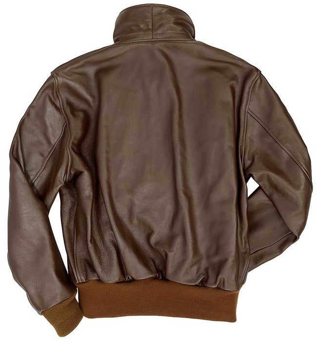Cockpit USA Mens Horsehide A-2 Leather Flight Jacket
