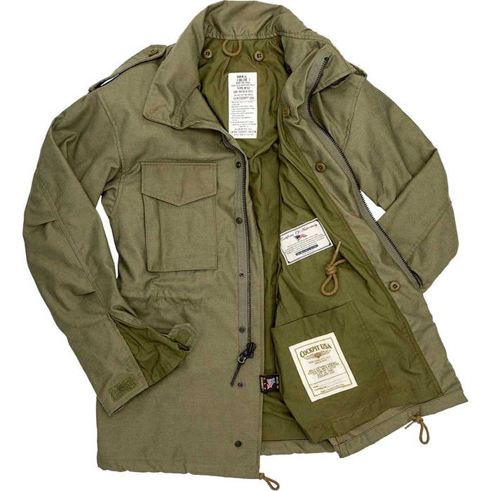 Cockpit USA Mens Military Spec M65 Field Jacket