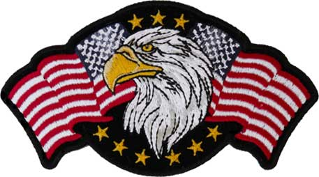 Star Spangled Banner Eagle Patch