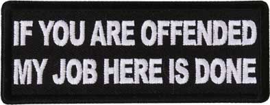 If You Are Offended... Patch