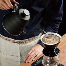 Load image into Gallery viewer, HARIO V60-02 KASUYA BLACK CERAMIC DRIPPER