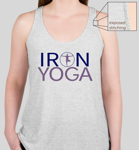 Iron Yoga Tank (heather white)