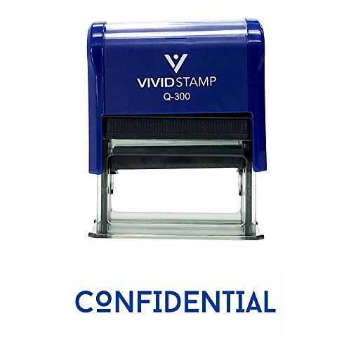 Confidential Office Self-Inking Office Rubber Stamp