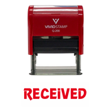 Received Office Self-Inking Office Rubber Stamp