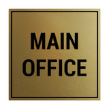 Signs ByLITA Square Main Office Sign