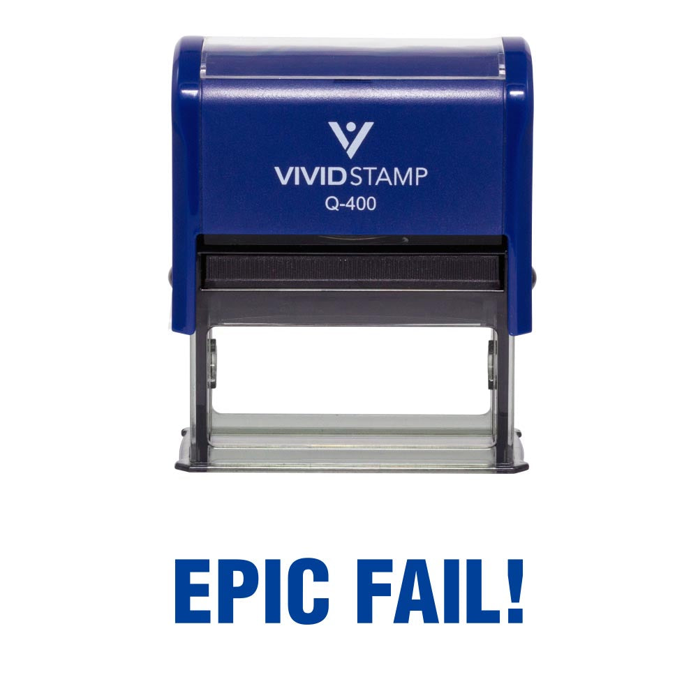 Epic Fail Novelty Stamp