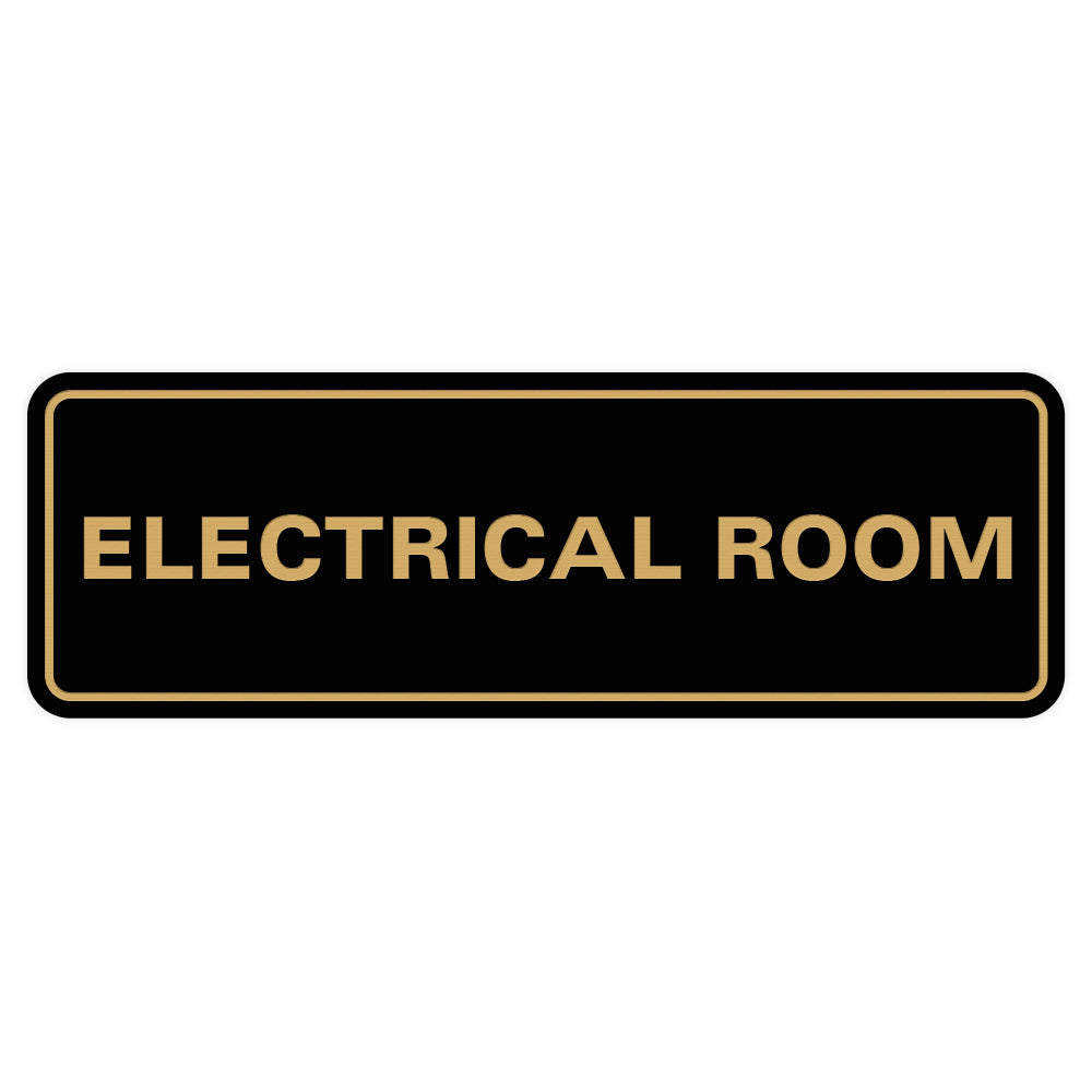 ELECTRICAL ROOM Door / Wall Sign