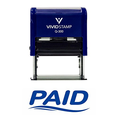 Fancy Paid Self Inking Rubber Stamp