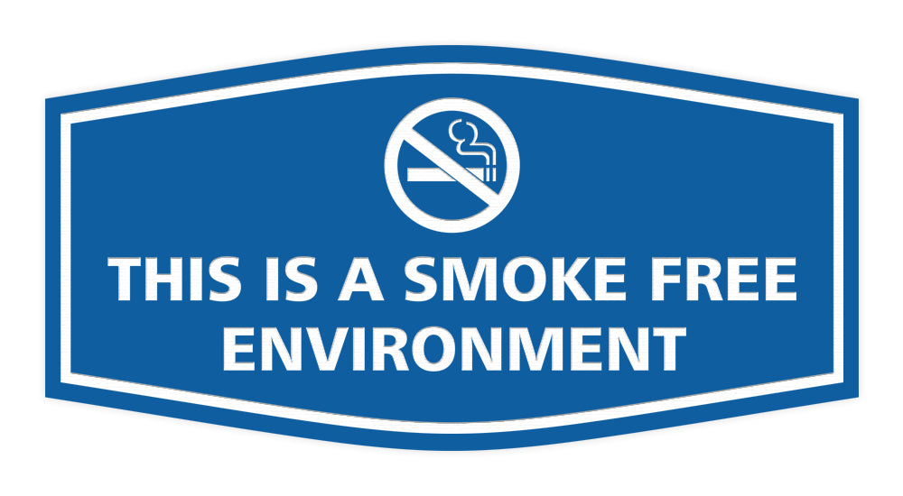 Signs ByLITA Fancy This Is A Smoke Free Environment Sign