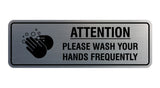 Signs ByLITA Standard Attention Please Wash Your Hands Sign