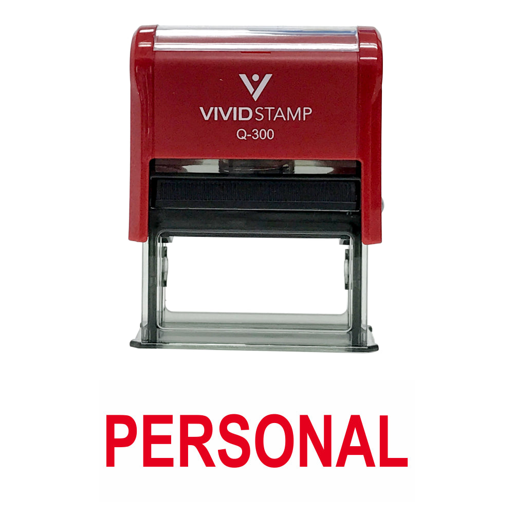Personal Self Inking Rubber Stamp