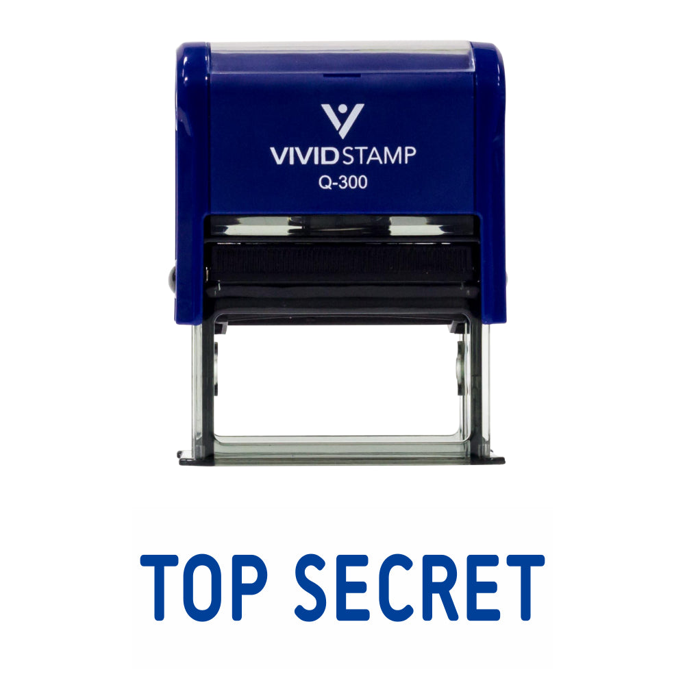 TOP SECRET Self Inking Rubber Stamp