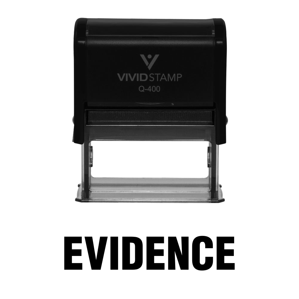 Evidence Self Inking Rubber Stamp