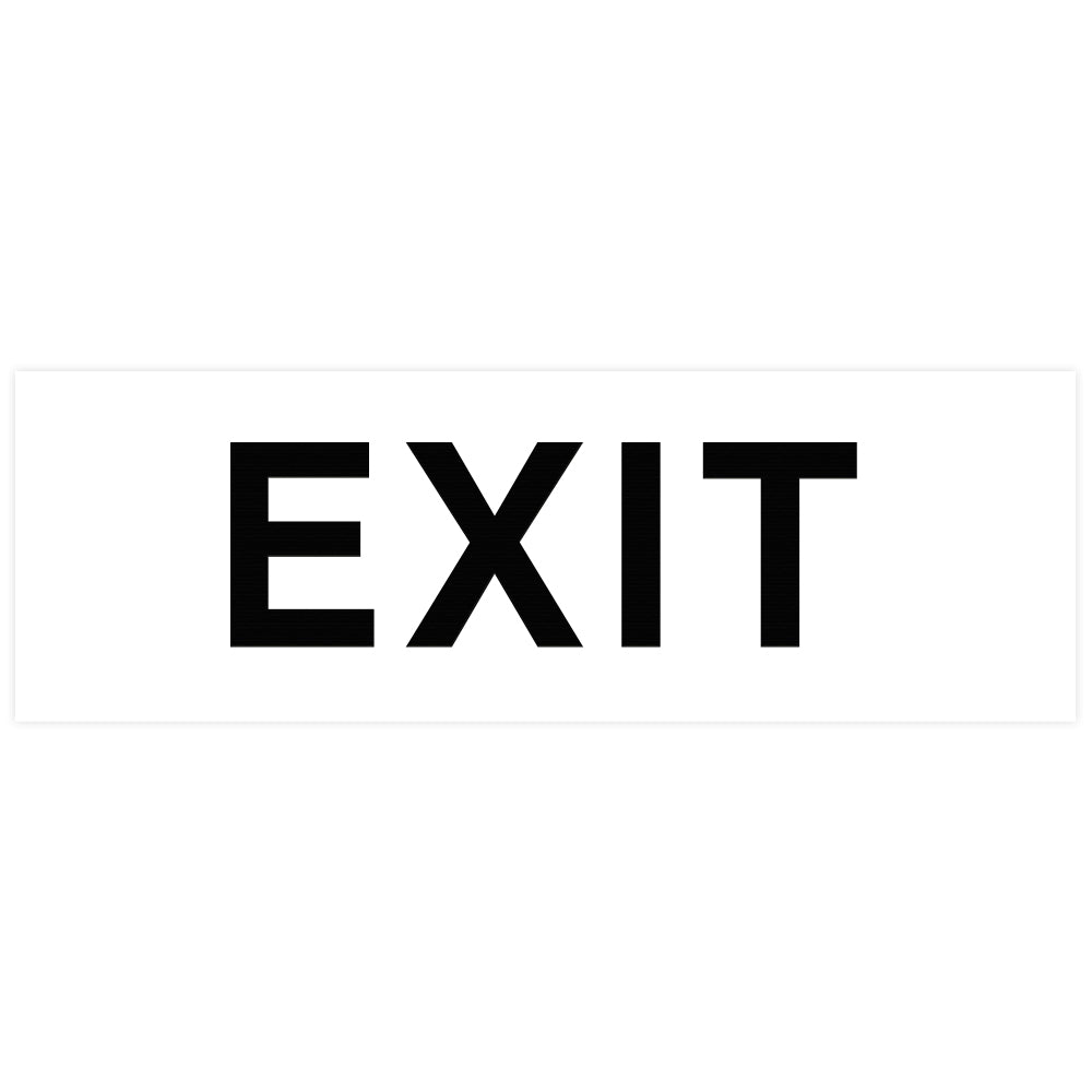 Basic EXIT Door / Wall Sign