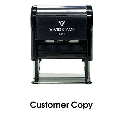 Customer Copy Self Inking Rubber Stamp