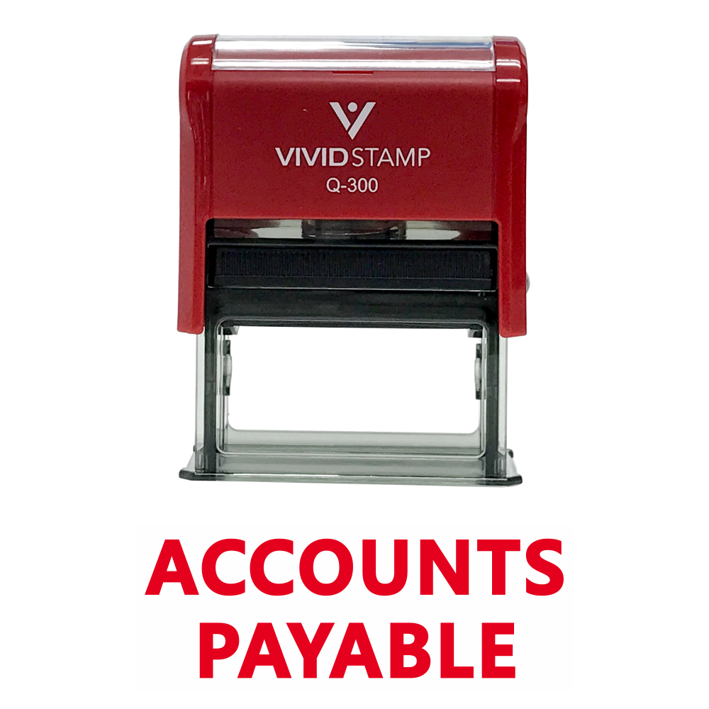 Accounts Payable Self Inking Rubber Stamp