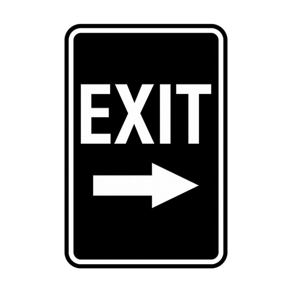 Entrance & Exit Signs