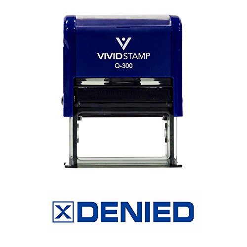 Denied Office Self-Inking Office Rubber Stamp