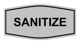 Signs ByLITA Fancy Sanitize Sign
